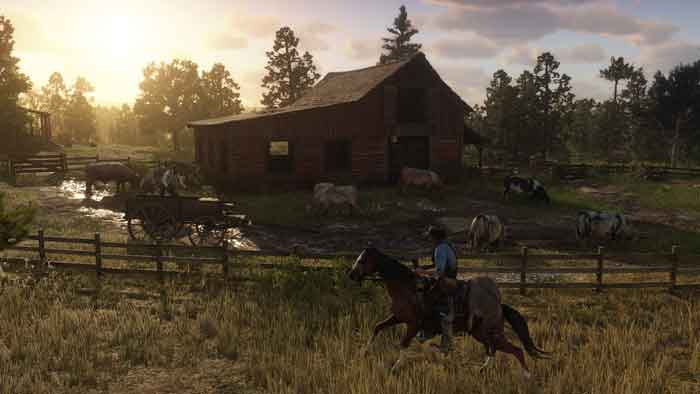 Red Dead Redemption 2 เป็นแนว Open World